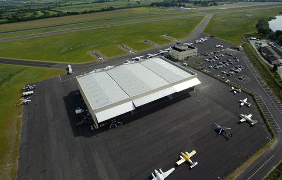 Weston Airport Hangar